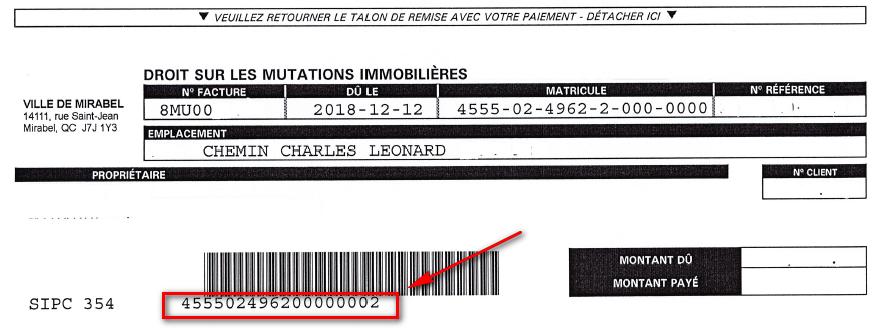 Ville Montréal Qc Ca Payer Constat >> Taxation Evaluation Et Mutation Ville De Mirabel